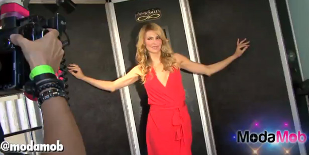 Brandi Glanville's Secret to Glowing Skin is Infinity Sun